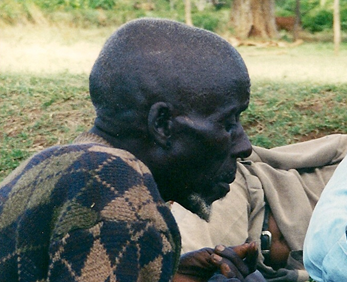Bena storyteller in Jinka